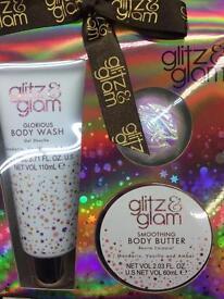 Glitz & glam gift set