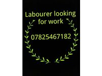 labourer looking for work