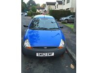 FORD KA for sale £300 or nearest offer, 48,000 miles, needs work