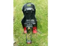Bicycle rear child seat up to 25 kg.
