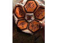 Signed hull city football approx 10 years old