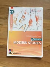 Higher modern studies textbook