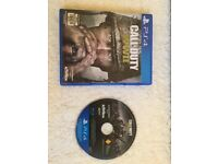 CALL OF DUTY WWII - PS4 GREAT CONDITION