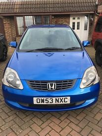 Honda Civic 1.6 VTEC executive leather heated seats