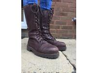Schuh brown leather boots size 39 (6)