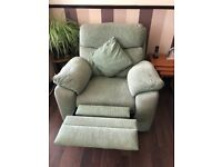 2 Seater Reclining Sofa and 2 x Reclining Armchairs