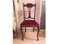 Pretty period (Edwardian?) chair