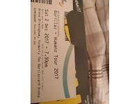ASAP!!! Gorillaz - Humans Tour tickets 2 Dec Barclaycard Arena Birmingham