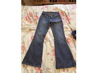 Ladies Levi's bootcut petite jeans