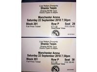Tickets for Shania Twain at Manchester Arena