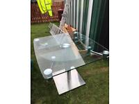 heavy glass table