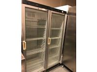 Commercial upright display drink pop fridge catering equipment restaurant hotels pubs cafe equipment