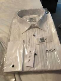 New men's dress shirt white buyer collects only