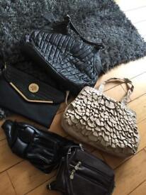Handbag bundle Debenhams bumbag clutch bag