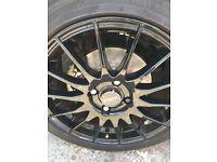 Fox Alloy wheels 4x108 16in
