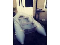 3 metre inflatable boat with a 4hp SUZUKI outboard