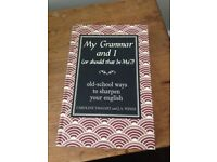 MY GRAMMAR AND I hardback book