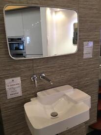 Hansgrohe axor bourollec basin tap designer mirror