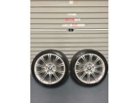 "2 18"" BMW MV2 Alloys"