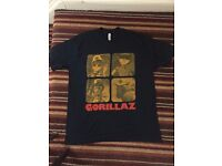 Gorillaz Plastic Beach Tour T Shirt