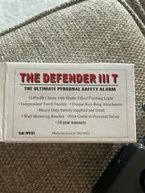 Personal safety alarm 🚨