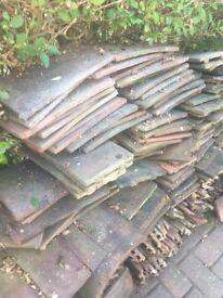 Approx 100 roof tiles