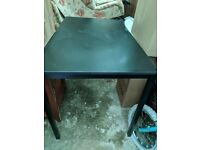 Black IKEA TARENDO table