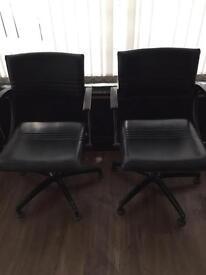 4 hair dressing chairs