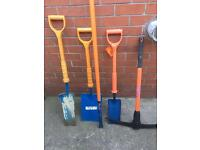 Insulated digging toolset