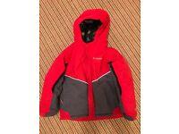 Children's Columbia omni tech ski jacket and salopettes