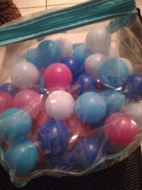 3 bags of ball pool balls