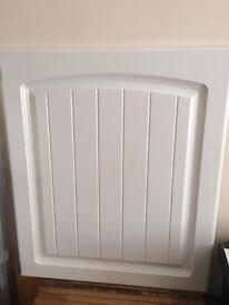 White country style doors