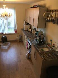 Used kitchen units light oak