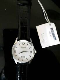 mans boss watch as new with tags