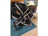 Kids kargo double travel system Pushchair