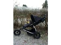 Mountain Buggy Urban Jungle + Carrycot + Footmuff + Bumperbar