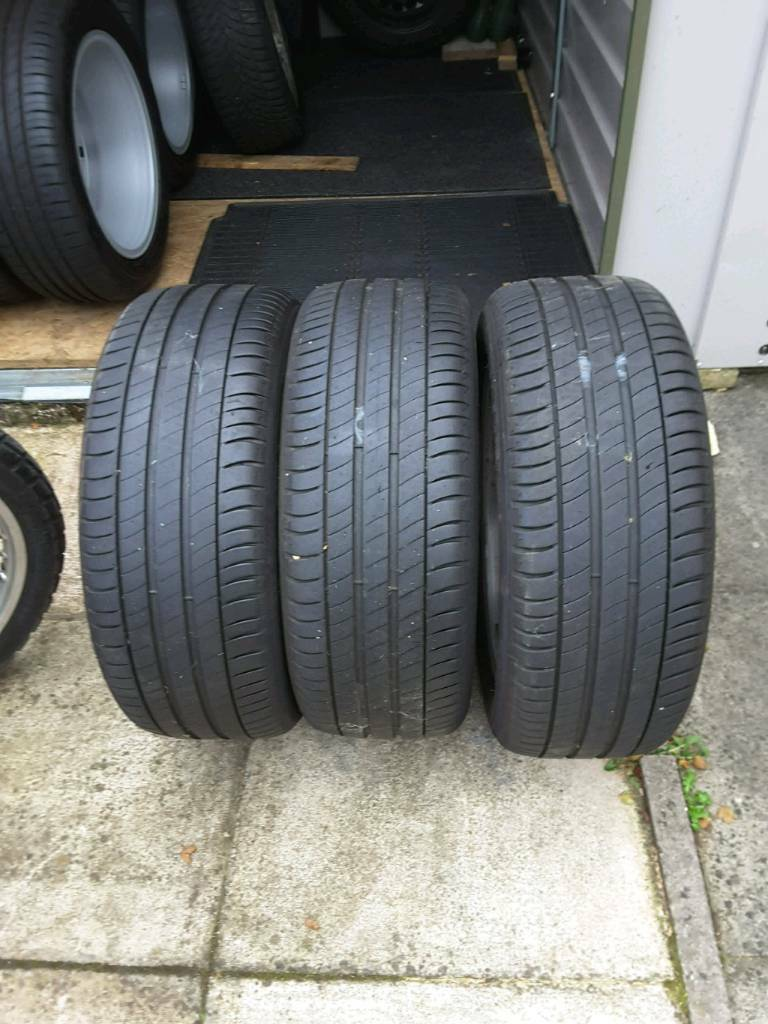 225/50/R17 Michelin Green Premacy 3 part worn tyres & Goodyear Ultra grip