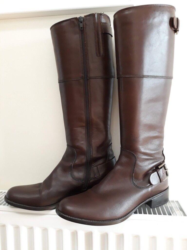 284c6c00bb9c76 Jones Bootmaker Ladies Brown Paloma-S Calf boot size 39 as new ...