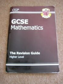 CGP Maths revision guide - higher level.