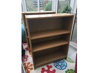 IKEA Billy Bookcase Oak Effect x 2