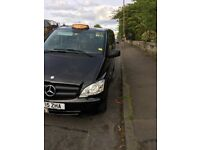 wanted black cab driver, nightshift,city cabs radio, mercedes m8 automatic