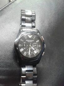 Armani ceramica watch