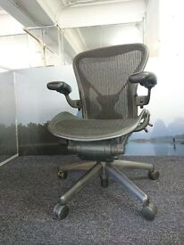 Huge Selection of Herman Miller Aeron Chairs **SIZE'S A & B in stock** Free Local delivery