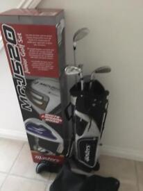 Masters junior golf set 9-11 years