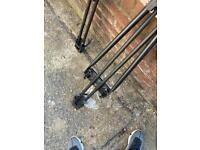 Two Bike rack with keys