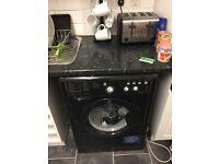Indesit washing machine black
