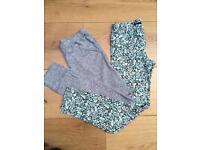 2 pairs girls leggings (Gap) age 12-13