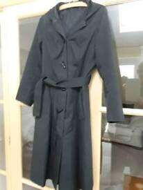 Ladies raincoat.