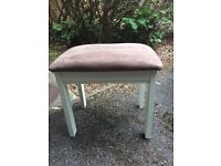 Chocolate Dressing Table Stool
