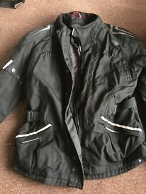 Motor Bike Textile Winter Jacket IXS with Liner